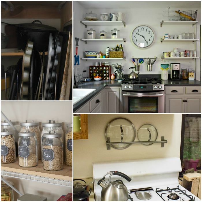 15 super easy kitchen organization ideas for Kitchen storage ideas