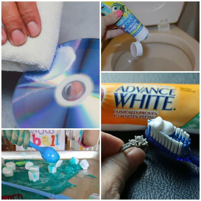unusual ways to use toothpaste