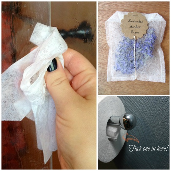 ways to use dryer sheets 2