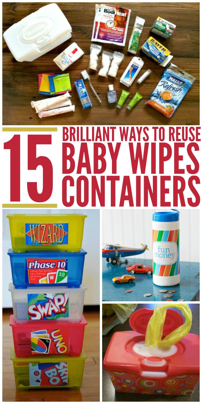 how to make a baby wipe case