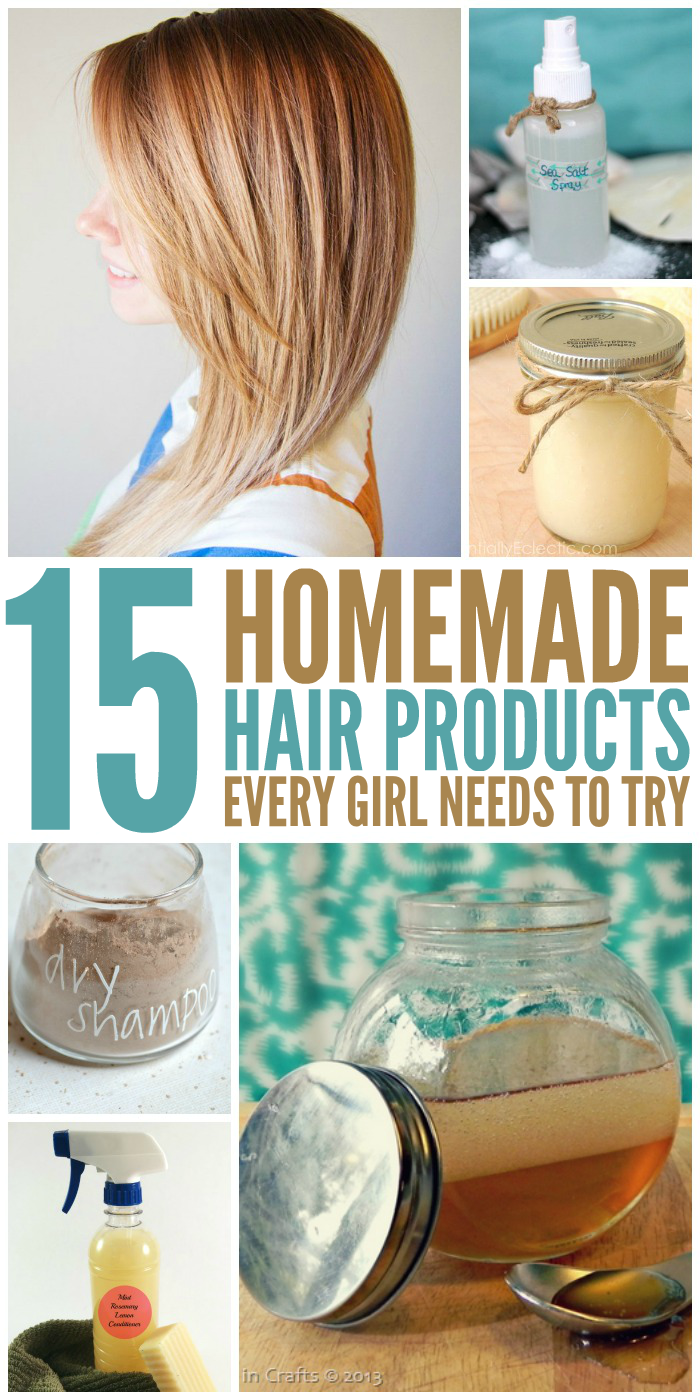 15 diy hair products every girl needs to try for Diy tr