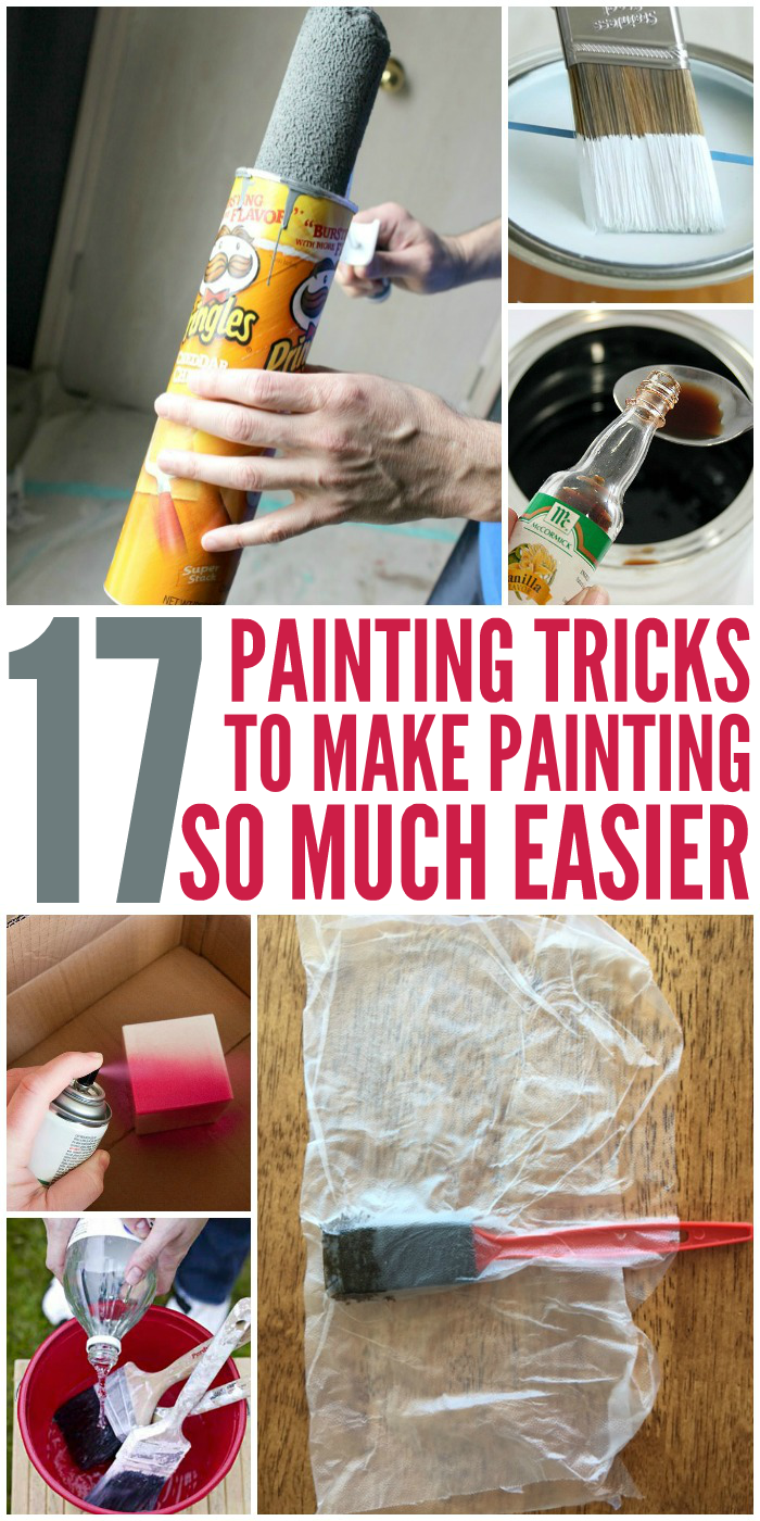 17 Painting Tricks That Make Painting Easier