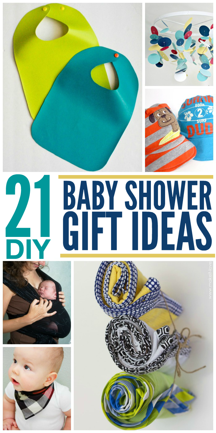 21 Adorable DIY Gifts for Baby Showers