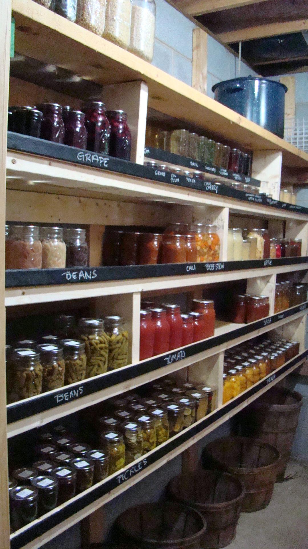 Unfinished basement storage ideas - Basement Organization Tips 15
