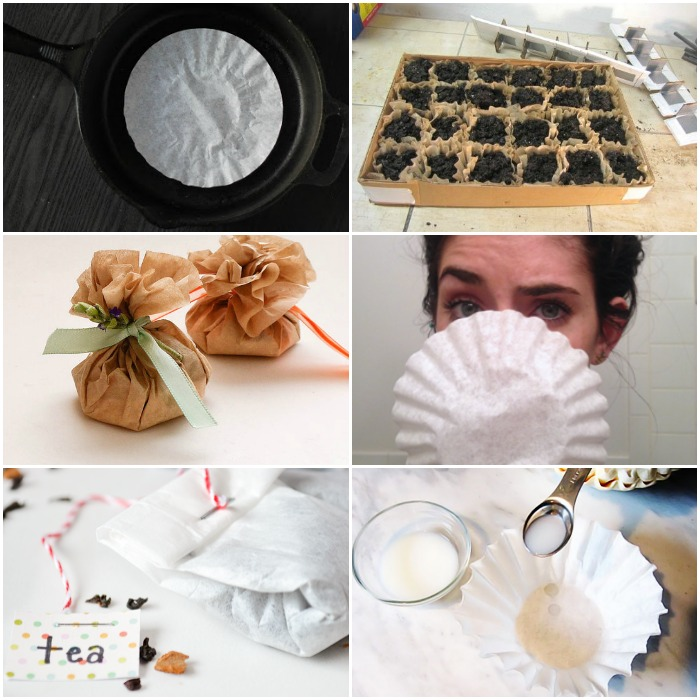 Coffee filters are great for so many household uses! Check out these surprising coffee filter uses when cleaning, gardening, crafting and more.
