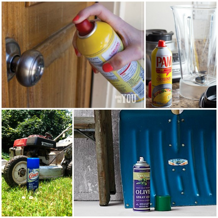 How To Use Cooking Spray To Solve Non Cooking Problems