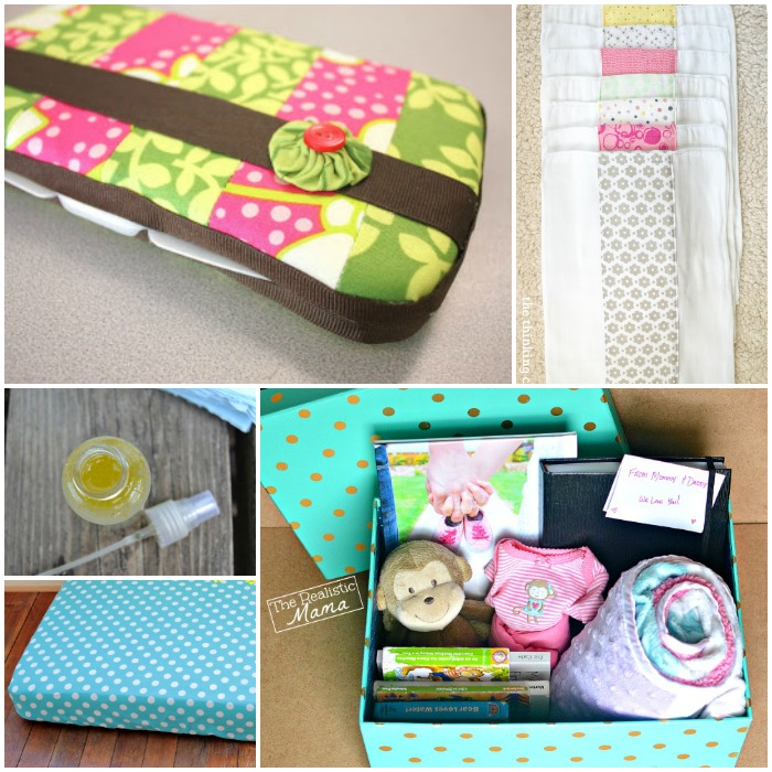 pics photos diy baby shower gifts