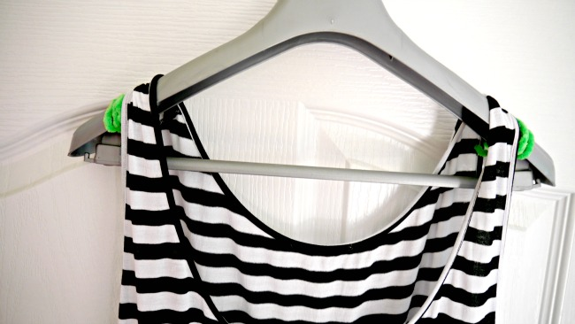 The Hanger Hack to End the Dropped Dress Struggle