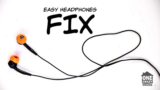 Easy headphone hack!