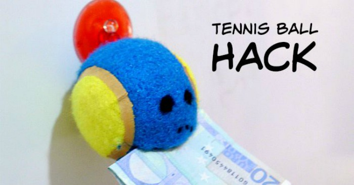 Tennis Ball Hack to Keep Track of Things You're Always Losing