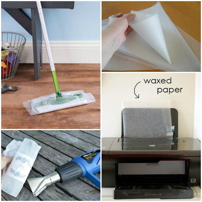 wax paper tricks