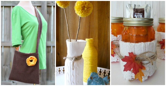 18 Things You Can Make From Old Sweaters