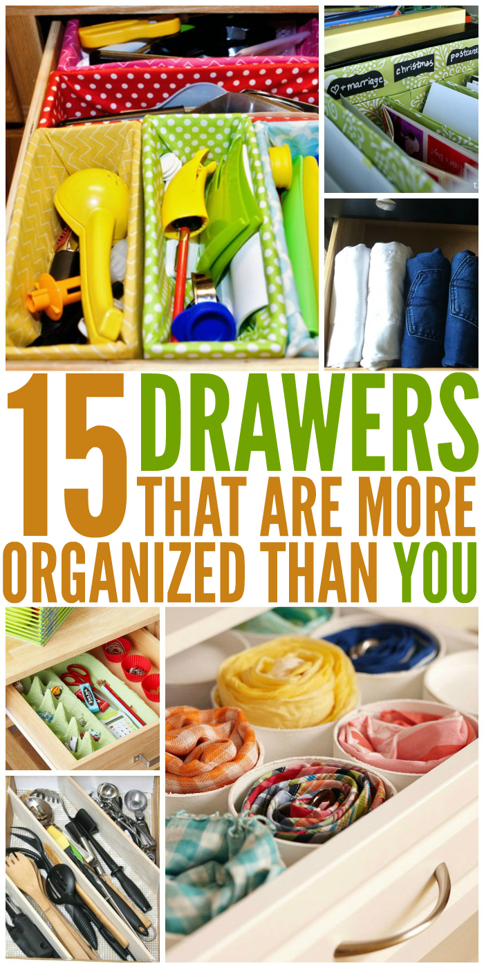 15 Drawer Organization Ideas to Tidy Up All Your Stuff