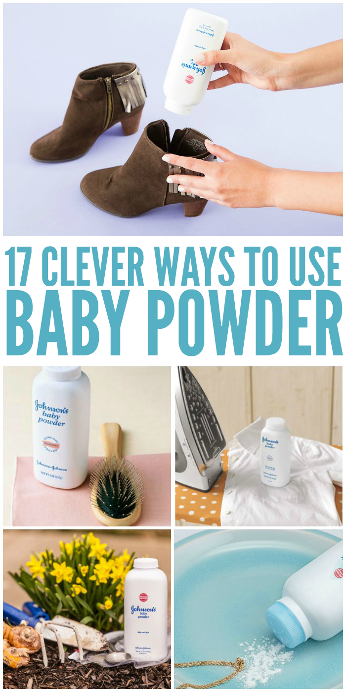 Did you know baby powder had so many uses? Here are some tips and tricks to get the most of this useful product.