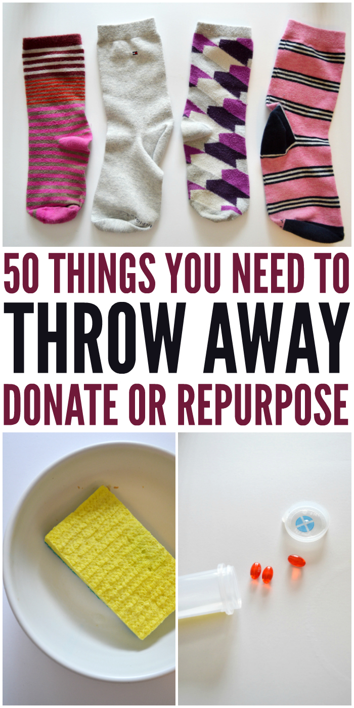 50 things you need to throw away to avoid hoarding for Things you need in a house