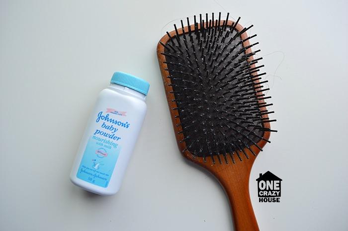 Baby Powder Hack - Dry Shampoo
