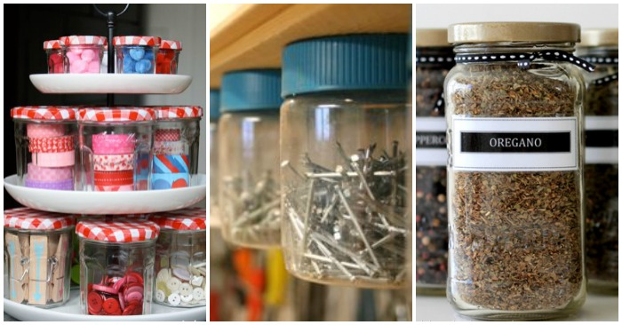 How to Reuse Old Food Jars