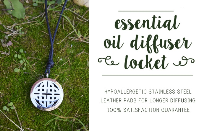 diffuser necklace knot ad size
