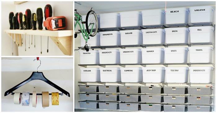 15 Ideas To Organize Your Garage, Organizing Garage Ideas