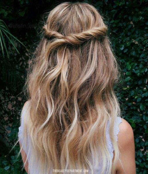 half up hairstyles 11