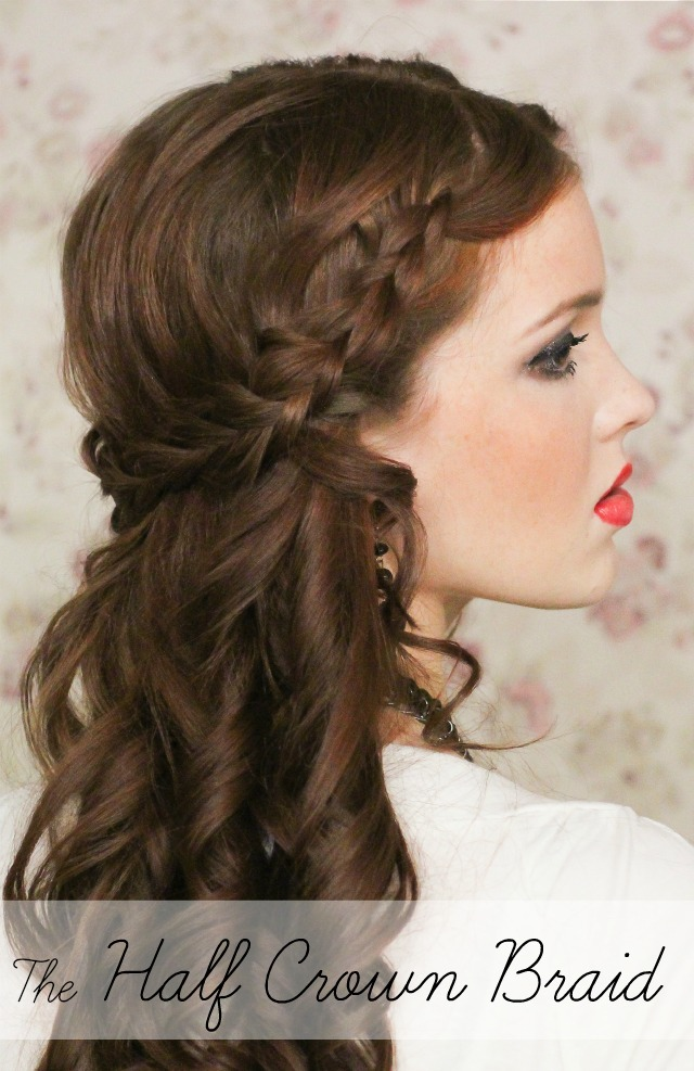 half up hairstyles 3