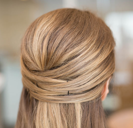 half up hairstyles 8
