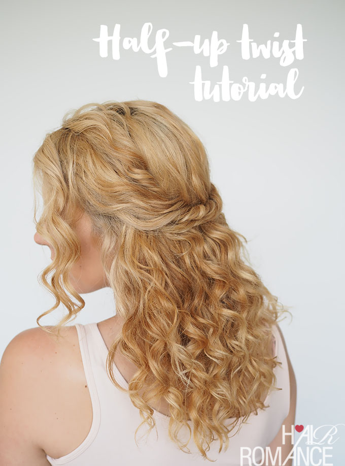 Half Up Hairstyles 1