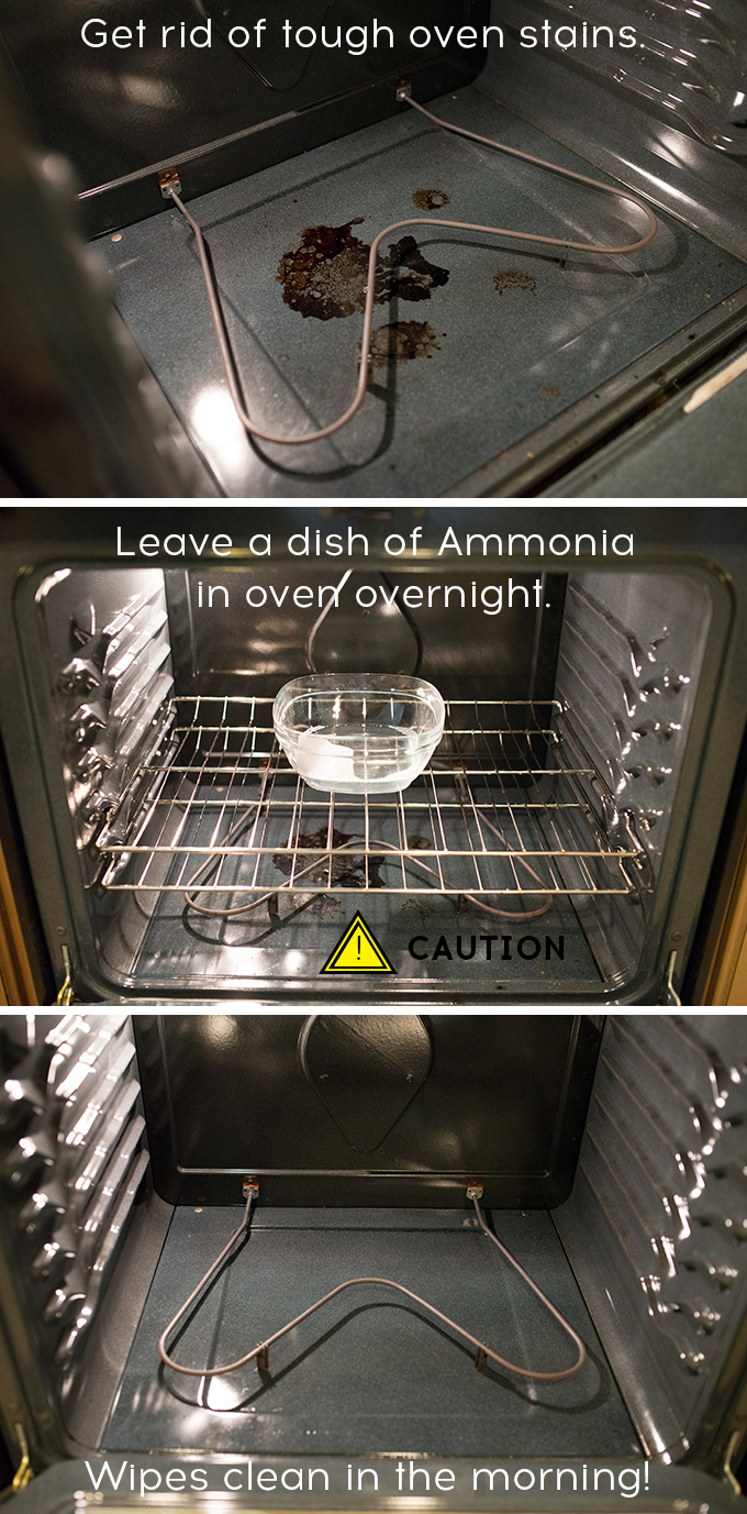 How to clean your oven like a pro - Clean burnt grease oven pots pans ...