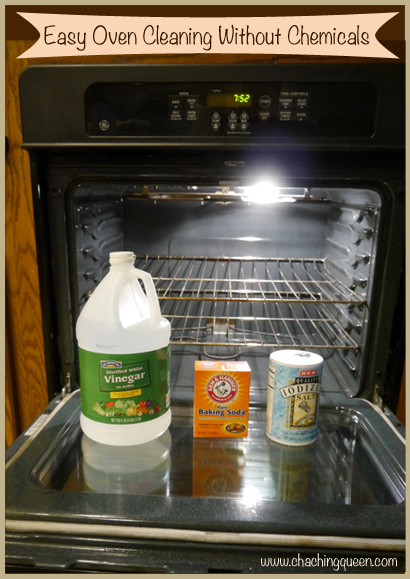 Oven Cleaner Natural Way