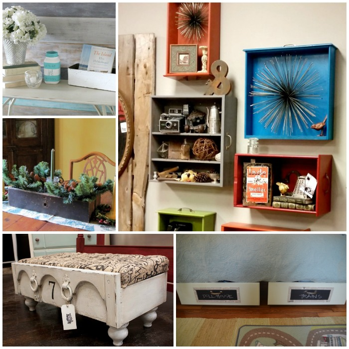 how to reuse old drawers