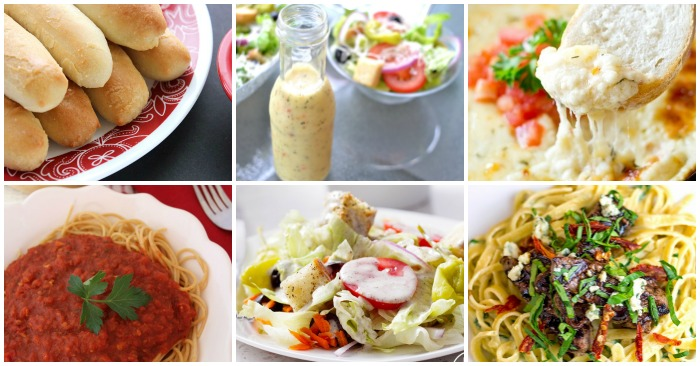 18 Olive Garden Copycat Recipes to Satisfy Your Italian Food Cravings