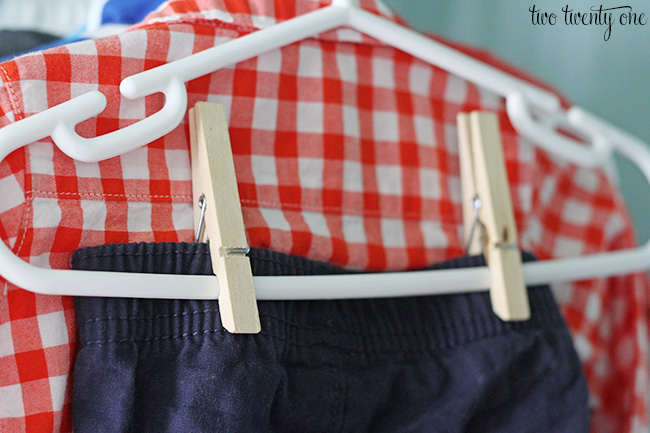 organize baby clothes 14