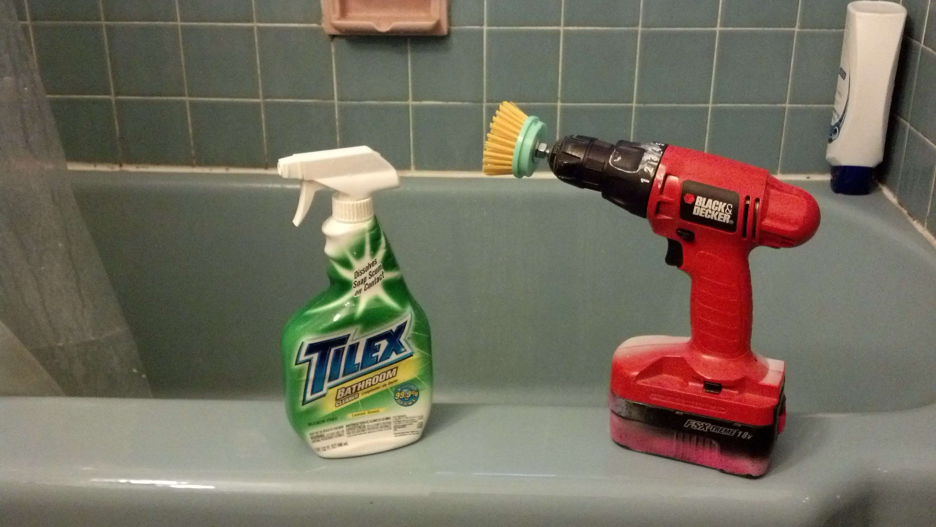shower cleaning hacks 10