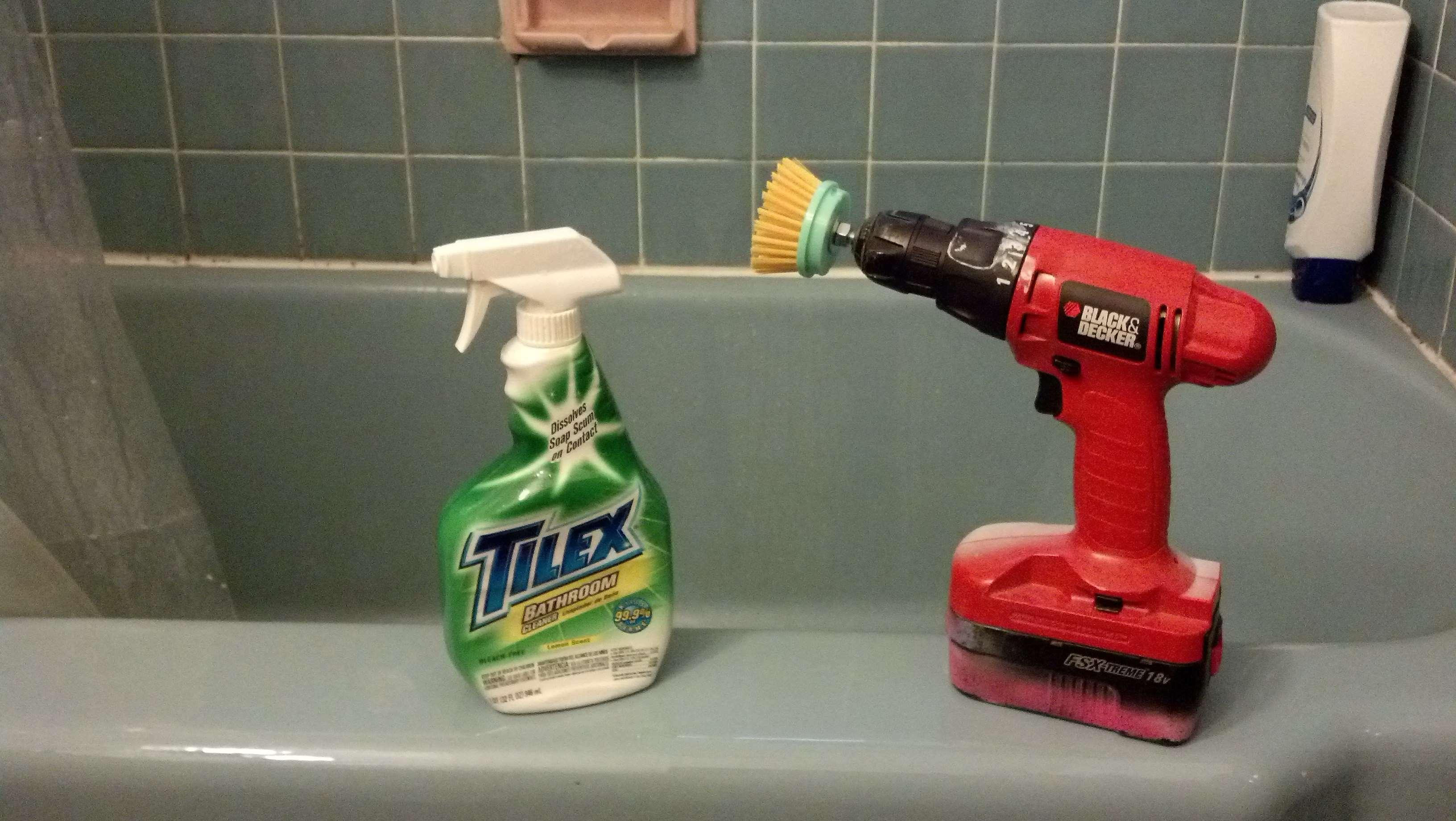 Scotch Brite Shower  u0026amp  Bath Scrubber  1 Pack Walmart. Best Bathtub Cleaning Brush   Rukinet com