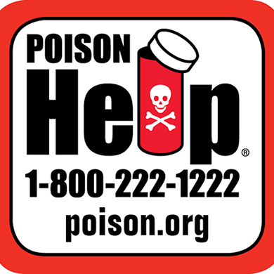 Poison Control Contact Information