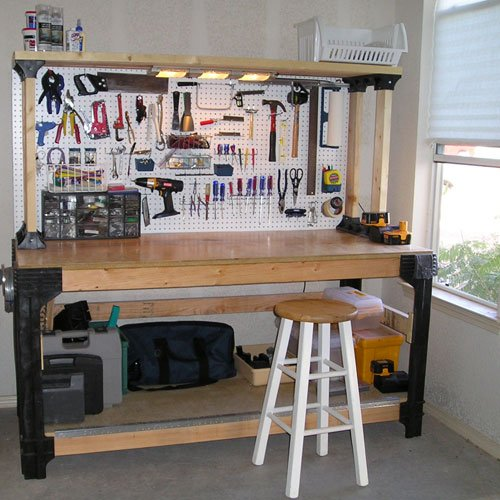 These are genius! Organize your garage and tool workbench with this!