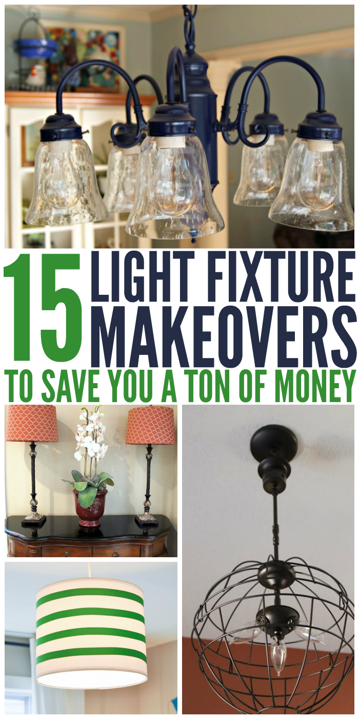 15 Light Fixture Makeovers to Save You a Ton of Money