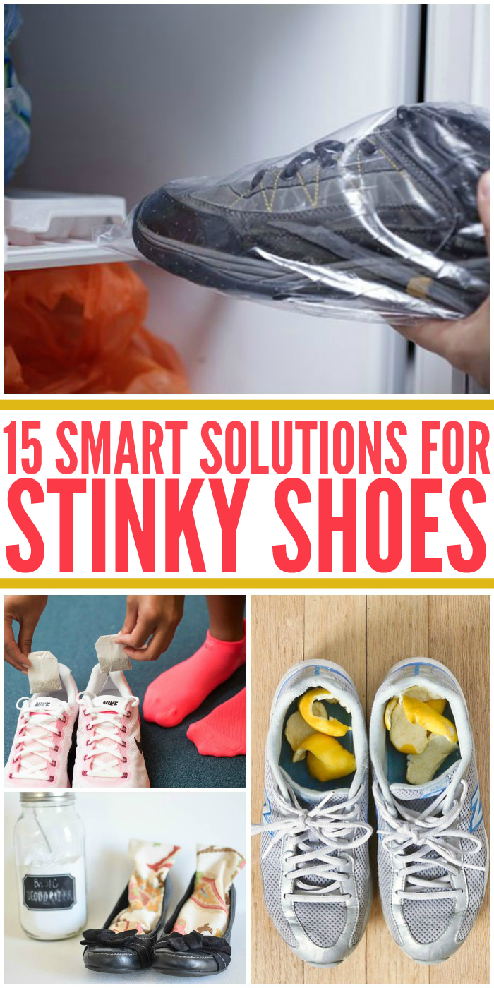 15 Smart Solutions for Stinky Shoes