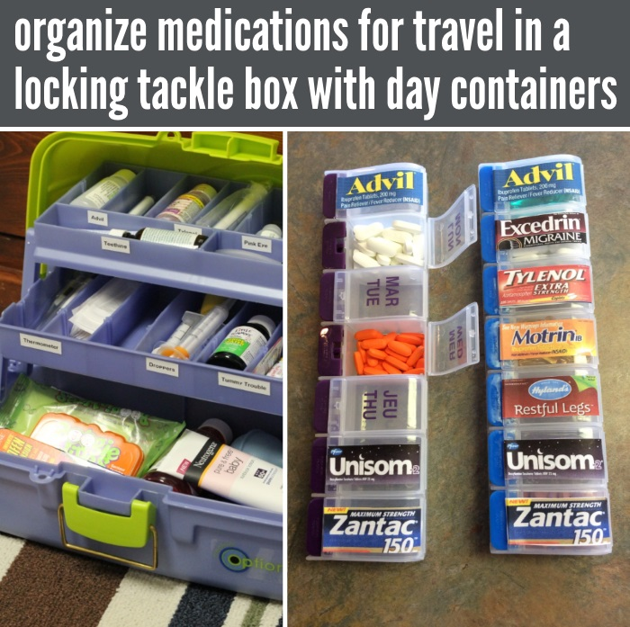 OTC medication containers