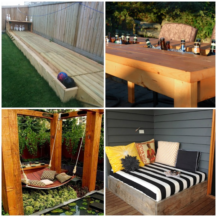 backyard diys to upgrade your outdoor space
