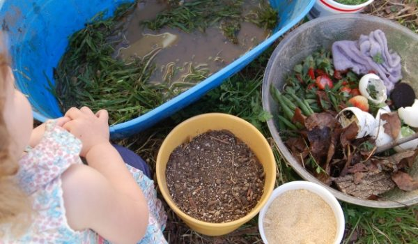 How to Make Compost Soup – A Backyard Science Activity