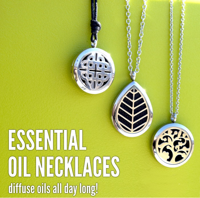 essential oil necklaces