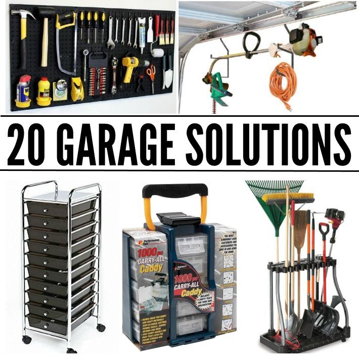 20 Garage Storage Ideas To Eliminate Clutter