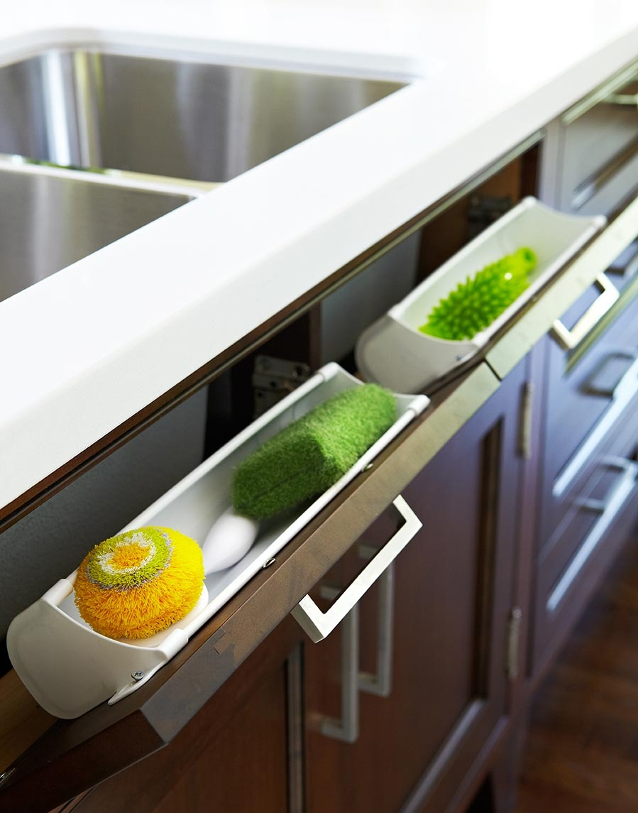 Under Kitchen Sink Storage 16 Renovations Under Your Sink That Will Wow