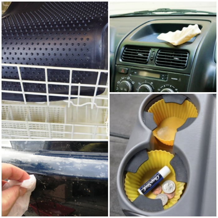 unexpected ways to clean your car