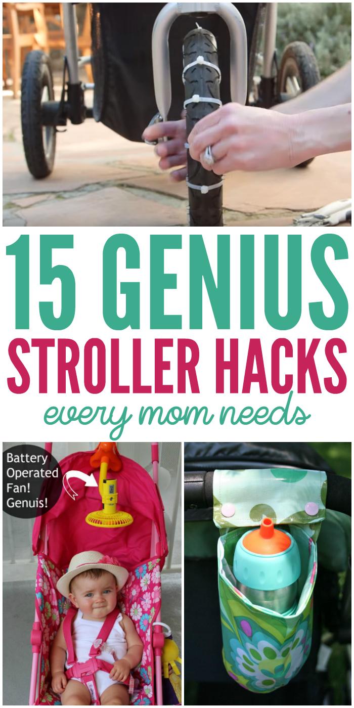 15 Genius Stroller Hacks