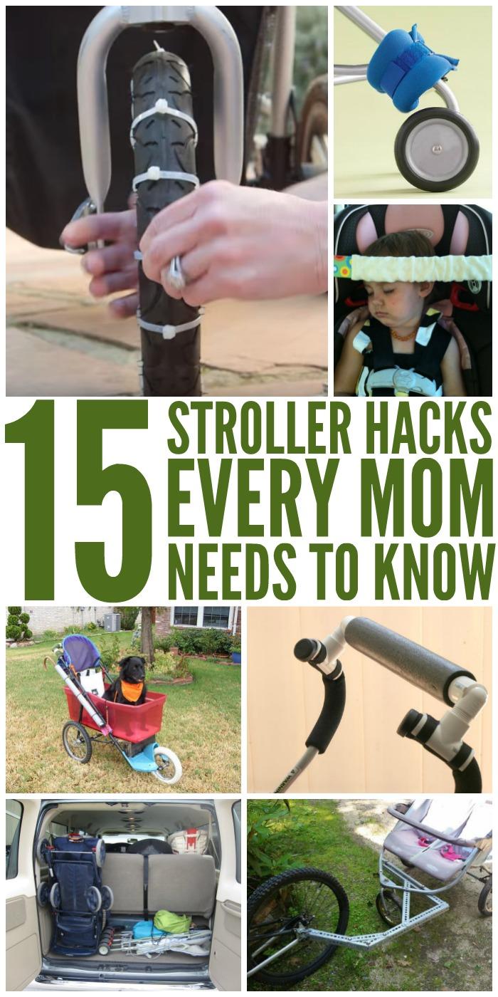 stroller hacks