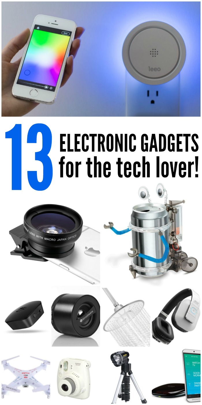 13 best electronic gadgets for the tech lover
