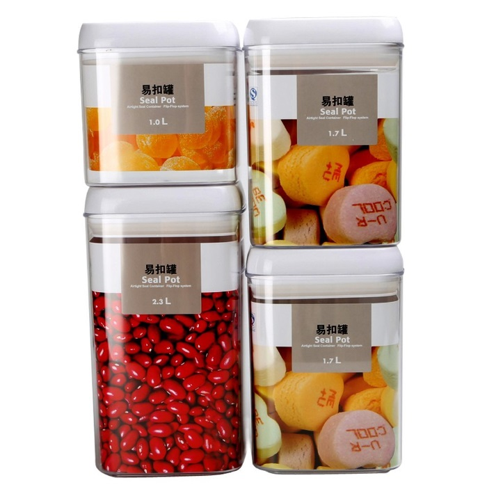 bins for food