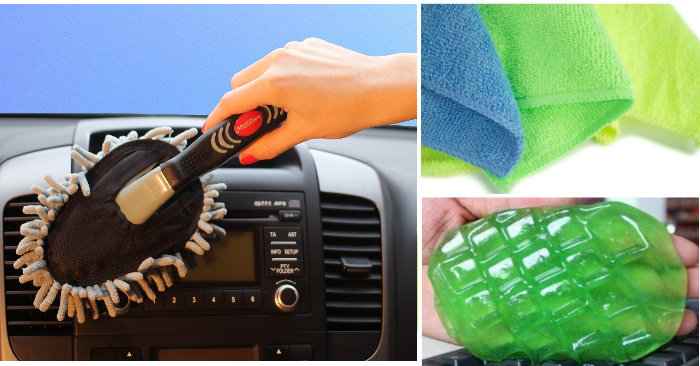 things to help you clean your car